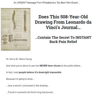 Stop Back Pain Naturally